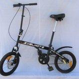 Городской велосипед VELMOT компактный и маневренный складной