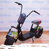 Электро Байк SEEV Citycoco Pro New. Хип-Хоп