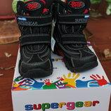 Зимние термо ботинки Super Gear 24-29 р Венгрия
