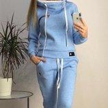 Теплый спортивный костюм турецкая трехнитка с начесом скл.1 арт.46539