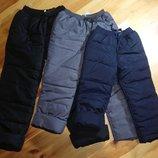 104-134 Штани на флісовій підкладці зимові теплі болонєві,болоньевые