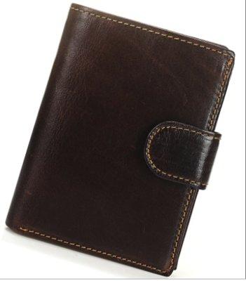 Мужской кожаный кошелек. Портмоне мужское. Натуральная кожа Ек38