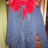 Модная куртка-парка