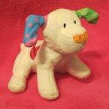 Собака.пес.собачка.песик.мягкая игрушка.мягка іграшка.мягкие игрушки.Rainbow Designs