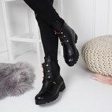 Женские кожаные ботинки Ermes р 38