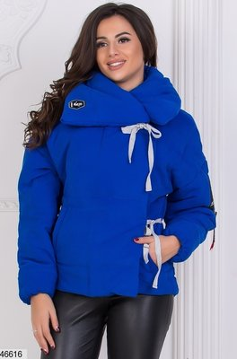Теплая турецкая зимняя куртка парка пуховик на силиконе скл1.арт.46616