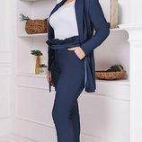 Теплый костюм турецкий джинс на флисе хл размеры 50-60 скл1.арт.47330