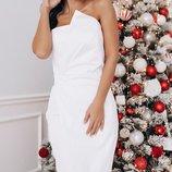 Шикарное платье корсетный регилин на полочке каттон-мемори скл1.арт.47444