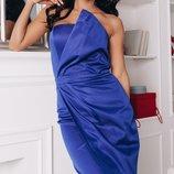 Шикарное платье корсетный регилин на полочке каттон-мемори скл1.арт.47441