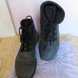 Мужские ботинки из нубука -JADYSKO.