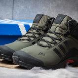 Зимние ботинки на меху Adidas Climaproof, хаки