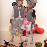 Новогодний карнавальный костюм Мышки от 3 до 7 лет