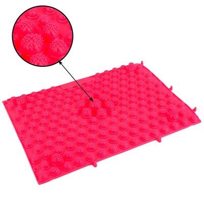 Акупунктурный коврик массажный для рефлексотерапии иглоукалывания