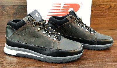 6204499f3f66 Мужские коричневые зимние кроссовки ботинки New Balance 754. Натуральный  мех и кожа