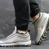 Nike 97 кроссовки мужские зимние в серебре 6753