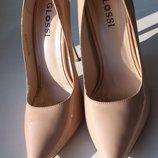 Кожаные лаковые туфли Glossi
