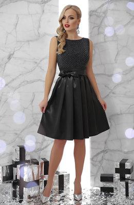 Нарядное платье средней длины - S, M, L