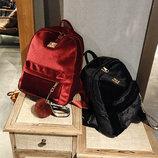 Рюкзак велюровый, 6 цветов