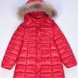 Moncler детское пуховое пальто монклер в наличии