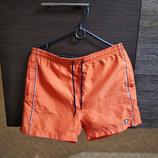 Оранжевые мужские шорты р.46