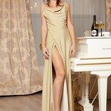 Длинное вечерне платье Р 2355