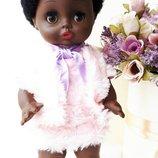 Кукла редкая прямоножка негр Бигги Biggi Гдр Германия
