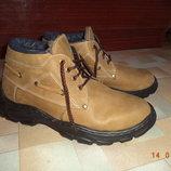 Ботинки тёплые, зима, р.43, натур.кожа, натур.мех