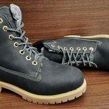 Черные женские ботинки Timberland Black