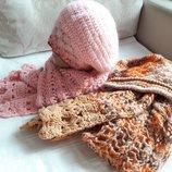 Распродажа Новые теплые комплекты берет и шарф