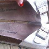 білі босоніжки р37 Graceland еко шкіра