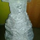 Карнавальное платье Снежинка.