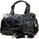 Городская мужская сумка. кожаная сумка в поездку. дорожная сумка портфель