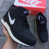 Мужские зимние ботинки кроссовки Nike Air
