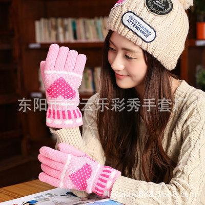 7-10 теплые перчатки