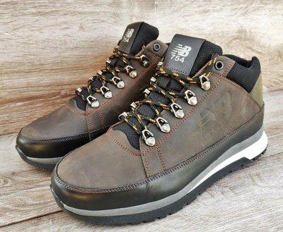 40eddf0e0f7f Мужские зимние кроссовки ботинки New Balance 754 . Кожа и мех натуральный.