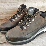 Мужские зимние кроссовки ботинки New Balance 754 . Кожа и мех натуральный.
