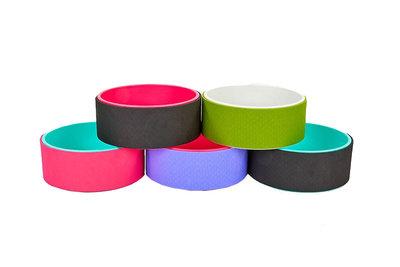Колесо кольцо для йоги Fit Wheel Yoga 1381 TPE PVC, 32х13см