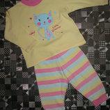 Симпатичная пижама на малышку St Bernard for Dunnes Stores 6-12мес