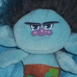шикарная мягкая кукла-подвеска Тролли Цветан Branch Dream Works Сша оригинал 24 см