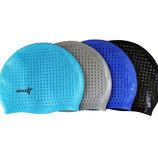 Шапочка для плавания силиконовая с пупырышками Classic 1229 4 цвета