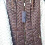 Теплая зимняя куртка с натуральным мехом 48-52р