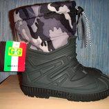 Дутики теплые на непогоду, Италия, 31, 32 размер