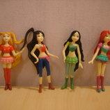 Набор кукол - фей куклы феи 4 шт.