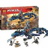 Конструктор Bela 10936 Ninjago Ниндзяго Ninja Ниндзя Вестник бури аналог Lego Ninjago 70652 , 515 д