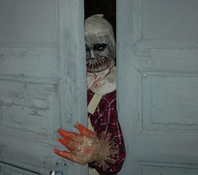 Карнавальная маска Пугало