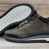 Кожаные мужские ботинки New Balance 754. Натуральный мех и кожа. Качество бомба