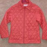 Куртка стеганная демисезонная на рост 128 см