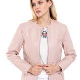 Куртка женская демисезонная кожаная новая размер M L XL XXL 3XL 46 48 50 52 54 56