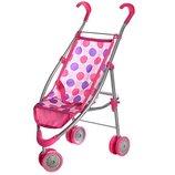 Прогулочная коляска для куклы Melogo Metr 9628