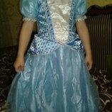 Карнавальное платье Снежинка на 3-4года.